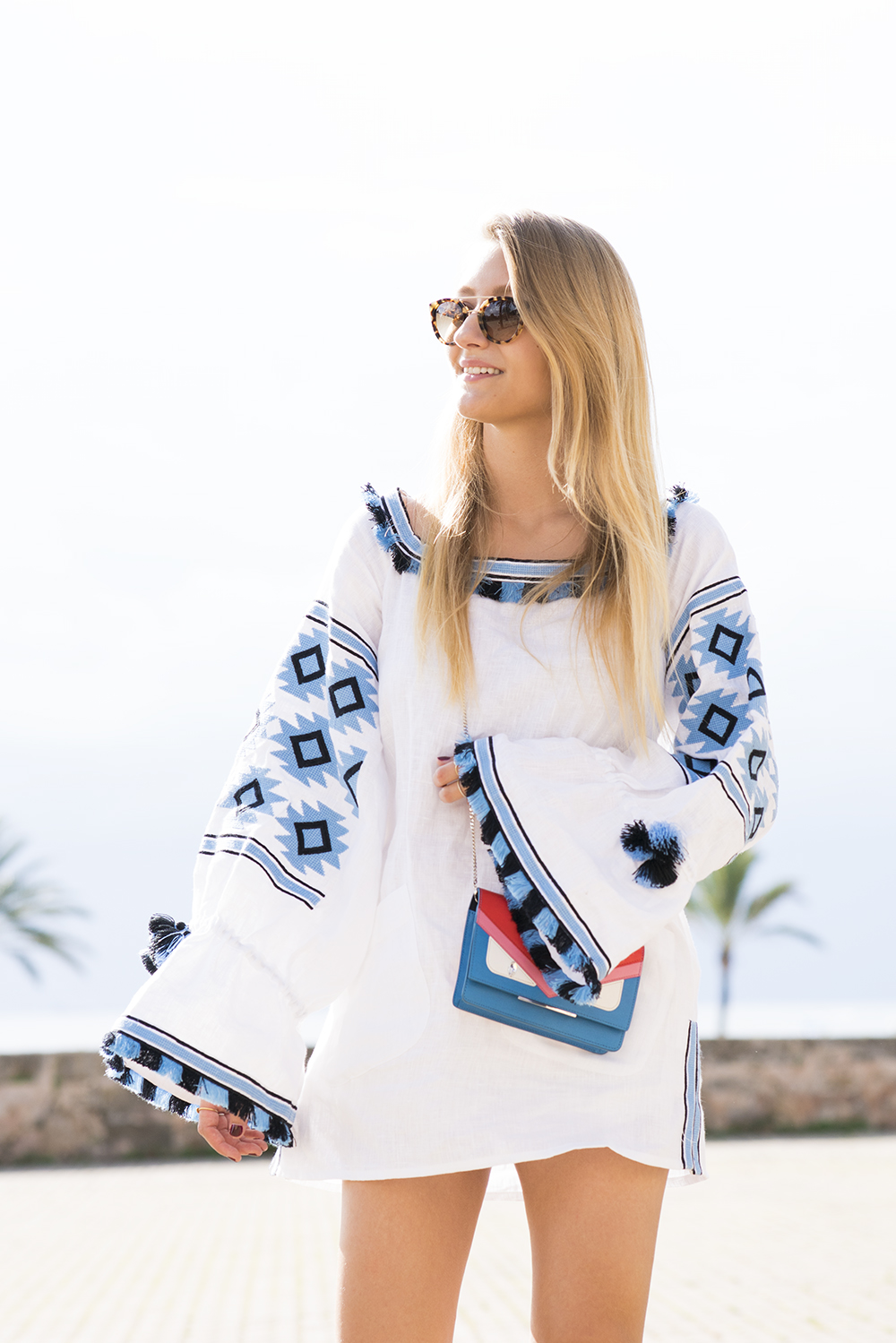 netaporter_dress_boho_white_blue_vivalamoda_blog_2