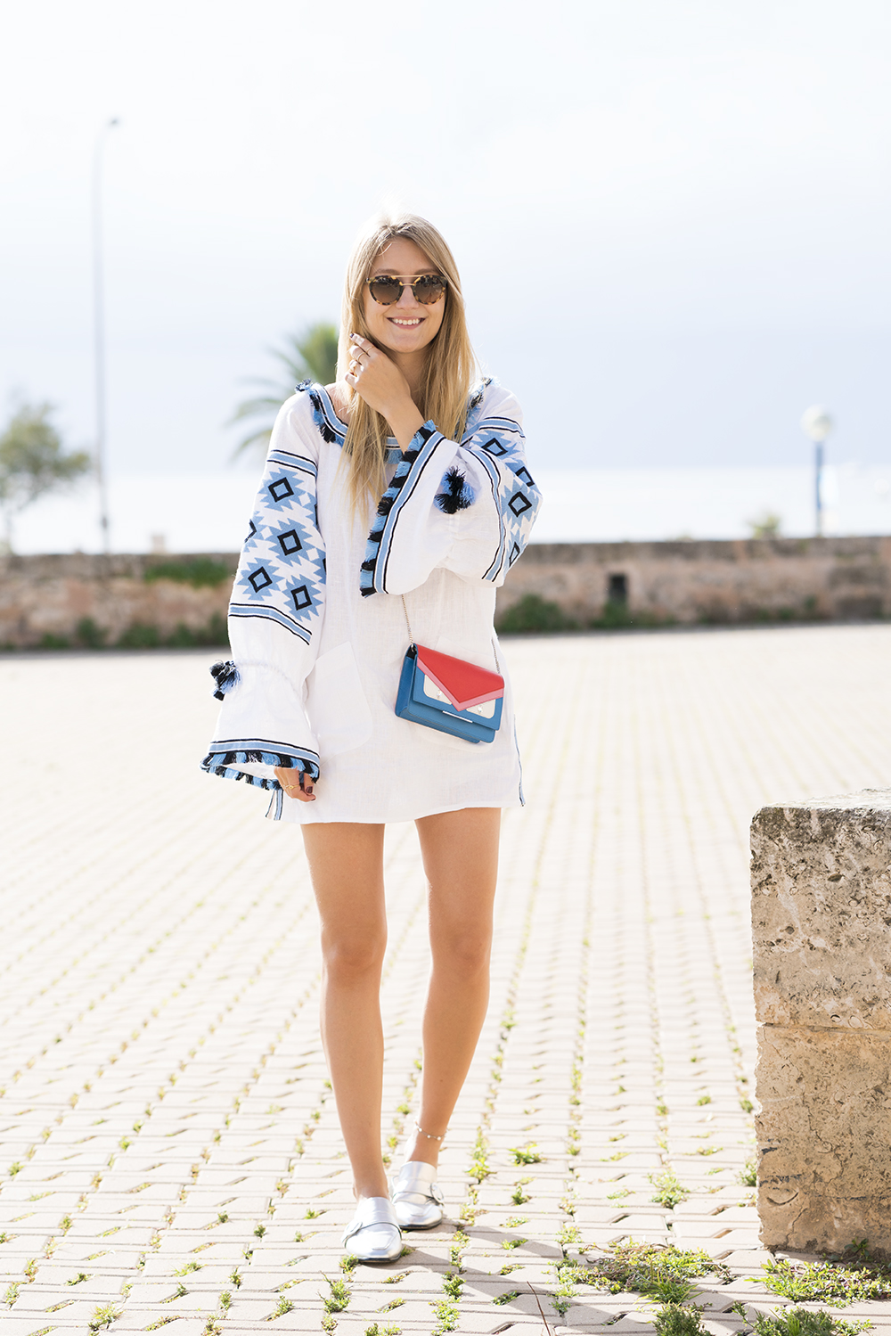 netaporter_dress_boho_white_blue_vivalamoda_blog_6