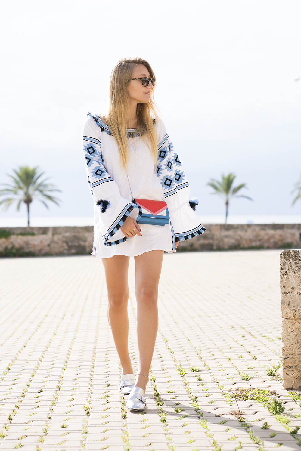 netaporter_dress_boho_white_blue_vivalamoda_blog_7