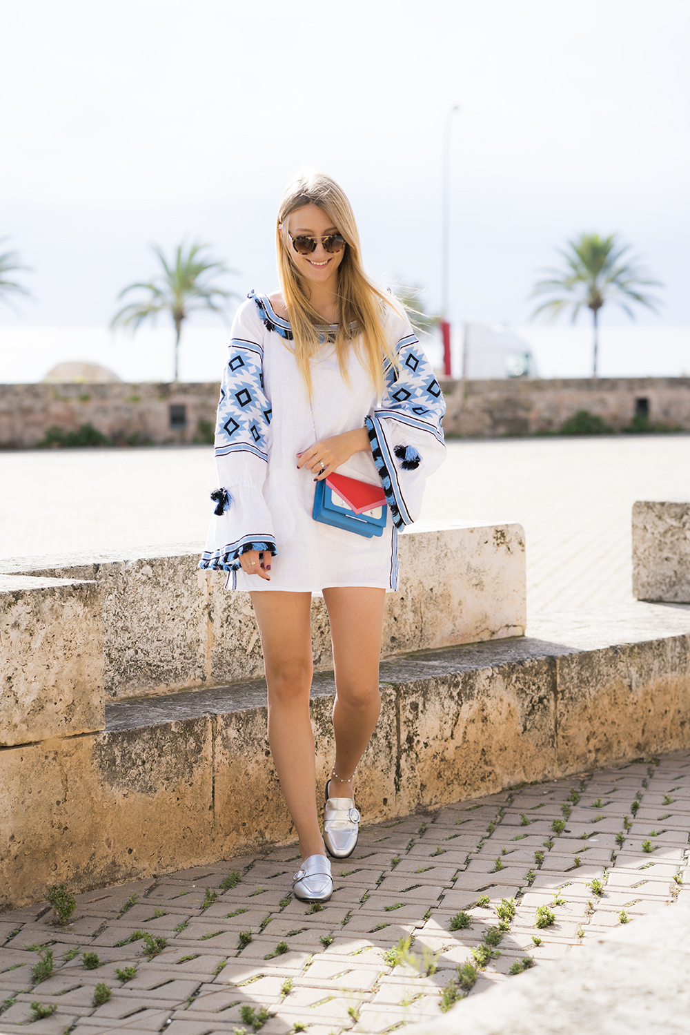 netaporter_dress_boho_white_blue_vivalamoda_blog_8