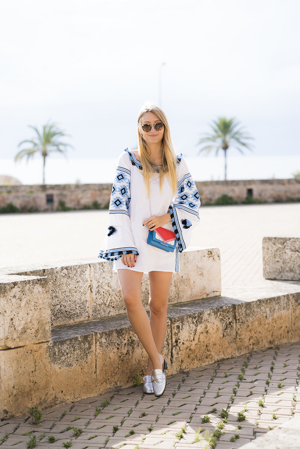 netaporter_dress_boho_white_blue_vivalamoda_blog_9