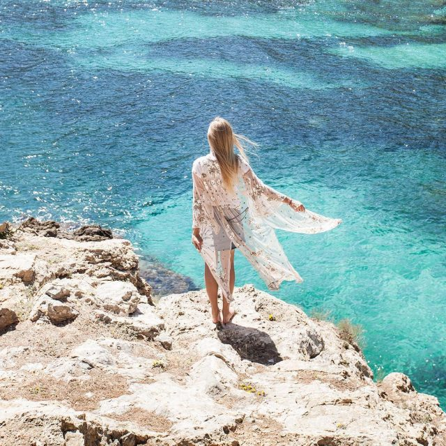 Kaftan moments in Mallorca! Today at the louboutinworld summer eventhellip