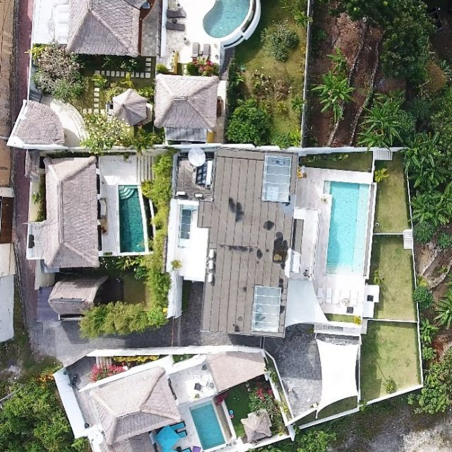 Wohoo 22 Throwback to Bali villas from above