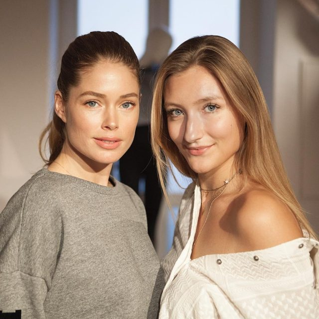 I interviewed the stunning doutzen today about her new hunkemollerhellip