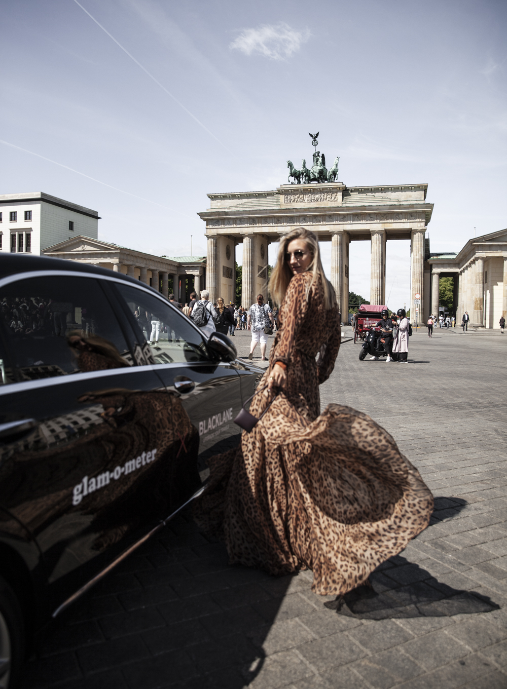 personalized car I Berlin Fashion Week