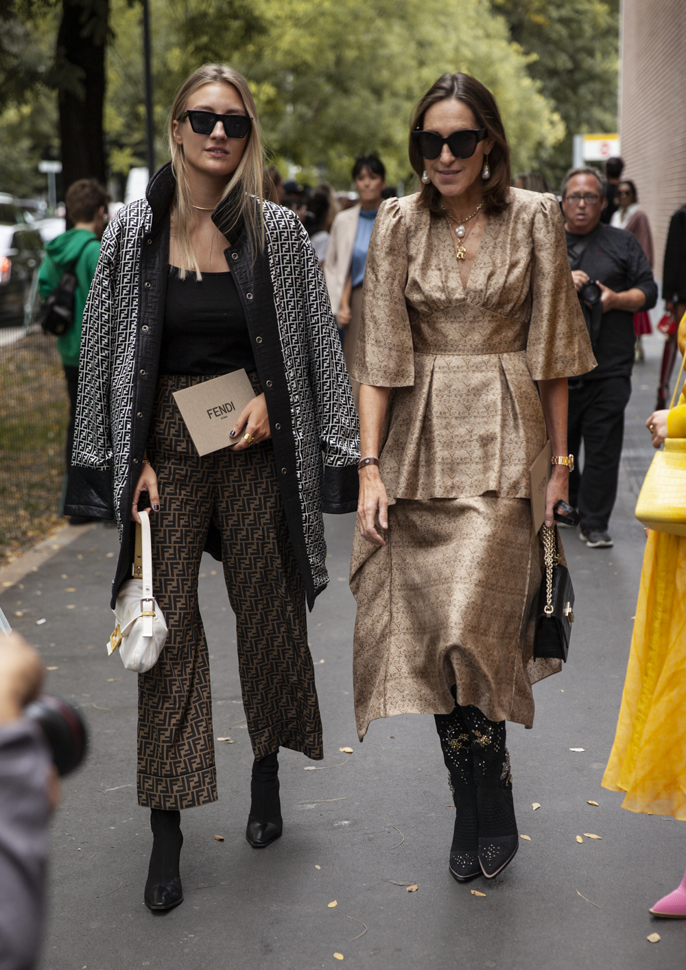 before fendi I Milan street style