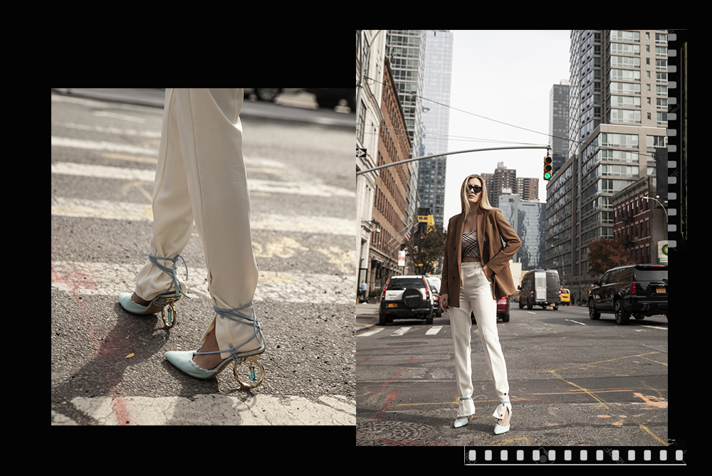 jacquemus pumps in NYC